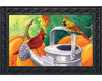 Fall Watering Can Doormat-BLD00898