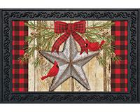 Festive Barnstar Doormat-BLD00935