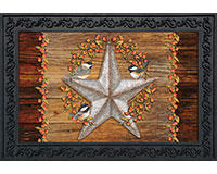 Harvest Barnstar Doormat-BLD00939