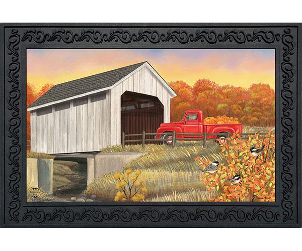 Autumn Bridge Doormat