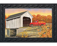 Autumn Bridge Doormat-BLD00951