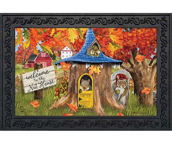 Fall Nut House Doormat