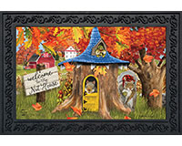 Fall Nut House Doormat-BLD00953
