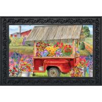 Spring Farm Doormat-BLD01289