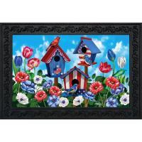 American Birdhouses Doormat-BLD01509
