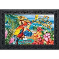 5 O'Clock Paradise Doormat-BLD01527
