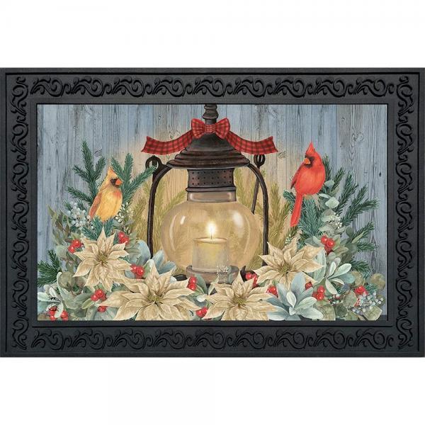 Warm Winter Candle Doormat