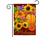 Fall Glory Garden Flag-BLG00052