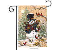 Winter Friends Garden Flag-BLG00089