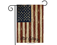 Old Glory Garden Flag-BLG00126