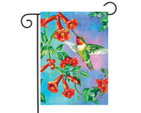 Hummingbird Dance Garden Flag-BLG00352