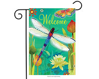 Dragonfly Dream Garden Flag-BLG00392