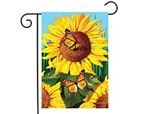 Sunflower Field Garden Flag-BLG00598