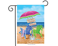 Beach Bum Garden Flag-BLG00601