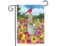 Spring Gathering Garden Flag-BLG00602