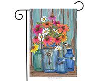 Farm Fresh Flowers Garden Flag-BLG00639