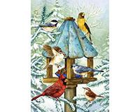Cold Feet, Warm Hearts Garden Flag-BLG00730
