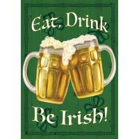 Be Irish Garden Flag-BLG00764