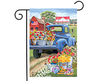 Day on the Farm Garden Flag-BLG00781