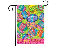 Easter Eggs Garden Flag-BLG00786