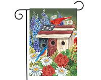 Patriotic Gathering Garden Flag-BLG00827