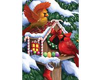 Home for the Holidays Garden Flag-BLG00899