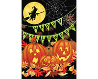Halloween Haunts Garden Flag-BLG00952