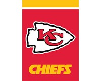 Kansas City Chiefs Garden Flag-BLG01035