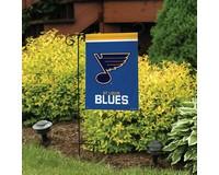 St Louis Blues Garden Flag-BLG01153