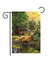 Great Outdoors Garden Flag-BLG01204