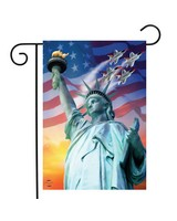 Liberty For All Garden Flag-BLG01242