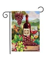 Wine Country Garden Flag-BLG01245