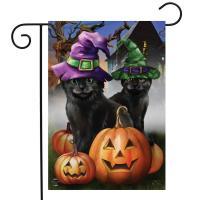Spooky Kittens Garden Flag-BLG01330