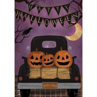 Halloween Truck Garden Flag-BLG01346