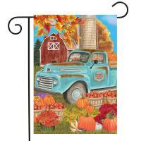 Fresh Picked Pumpkins Garden Flag-BLG01611
