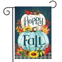 Happy Fall Pumpkins Garden Flag-BLG01622