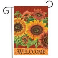 Colorful Sunflowers Garden Flag-BLG01629