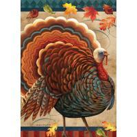 Fall Turkey Garden Flag-BLG01632