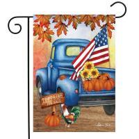 Autumn Old Days Garden Flag-BLG01640