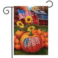 U.S.A. Pumpkins Garden Flag-BLG01647