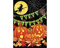 Halloween Haunts House Flag-BLH00952