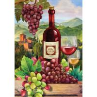 Wine Country House Flag-BLH01245