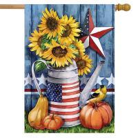 Amercian Autumn House Flag-BLH01615
