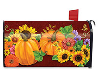 Fall Glory Mailbox Cover-BLM00052