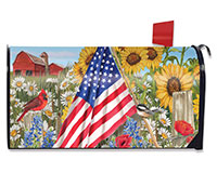 America the Beautiful Mailbox Cover-BLM00387