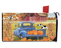 Pumpkin Patch Pickup Mailbox Cover-BLM00482