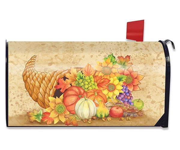 Fall Bounty Mailbox Cover