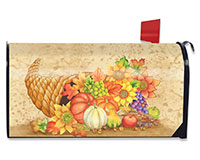 Fall Bounty Mailbox Cover-BLM00708