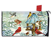 Cold Feet, Warm Hearts Mailbox Cover-BLM00730