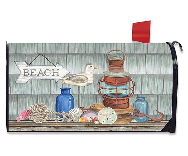 Beachy Vibes Mailbox Cover
